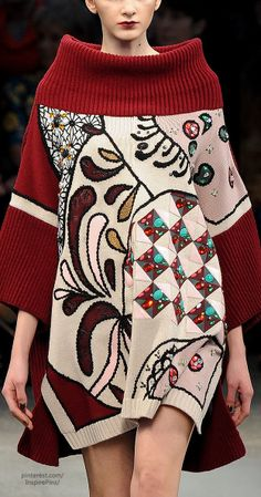 Fall 2014 Ready-to-Wear Antonio Marras..... It's strange how much I love this. I. Love. It.