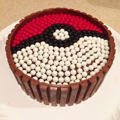 Is your child a Pokemon fanatic? Then a Pokemon Birthday Party is a must. Check out this fun and creative ideas! Pokemon Themed Party, Pokemon Birthday Cake, Pikachu Cake, Pokeball Cake, 6th Birthday Parties, 7th Birthday, Birthday Ideas, Cakes For Boys, Party Cakes