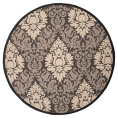 Safavieh Dorchester Damask Outdoor Rug
