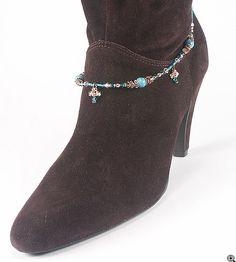 Jewelry Making Idea: Desert Winds Boot Bracelet (eebeads.com)