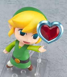Esta figura de The Legend of Zelda: The Wind Waker es tan versátil como adorable