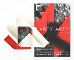 Zend: Party Arty 2011 by Laura Berglund, via Behance