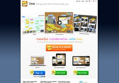 http://en.linoit.com lino is an online web sticky note service that can be used to post memos, to-do lists, ideas, and photos anywhere on an online web canvas. lino is a completely free service that runs on all popular web browsers.