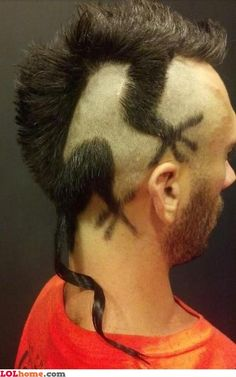 Weird haircut  http://meme-apartman.tumblr.com