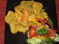 Bhajia--Kenya fried potato snack with gram flour