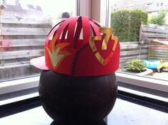 Brandweerman verjaardagshoed