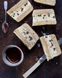 Frozen Hazelnut Mousse Cakes with Armagnac