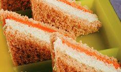 Receita de Sanduíche colorido - Sanduíche - Dificuldade: Fácil - Calorias: 217 por porção