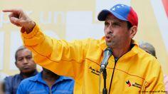 Venezuela's Capriles rejects 'national dialogue' with Maduro - DEUTSCHE WELLE #Venezuela, #Capriles, #Maduro