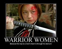 warrior women...