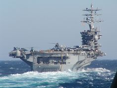U.S.S. Nimitz CVN-68- I was deployed with my squadron VFA-147 to the Nimitz during 1992.