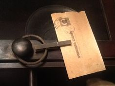 Clothespin and ring...great for recipe cards, old photos, cards etc.