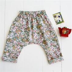 Wiksten, Sewing Pattern, Baby & Toddler Harem Pants