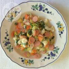 Kartoffel-Gemüseeintopf mit Wiener Würstchen @ de.allrecipes.com