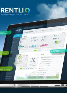 Rentl.io Booking App on Behance