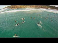 SURF - Quadrocopter HD - Byron Bay - Australia