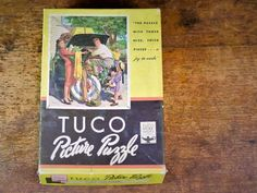 Vintage Tuco Picture Puzzle The Last Straw By Harold Anderson 1940-1950 Complete Non-Interlocking Over 200 Pieces USA by Misinterpreted on etsy.