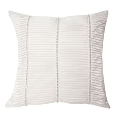 Kylie Minogue satin filled cushion in oyster white – PASX UK