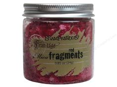 Stampendous Fran-Tage Mica Fragments Red .85oz -- CreateForLess