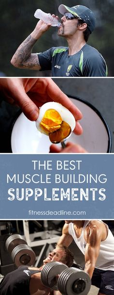 The Best Muscle Building Supplements Guide. Gaining muscle requires more than just pushing weights at the gym.