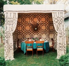 Chic outdoor tent