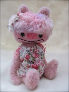 PINK WHOOPIE PIE by By Jac-Q-Lyn Bears | Bear Pile