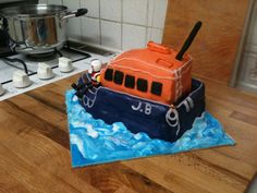 Lifeboat cake