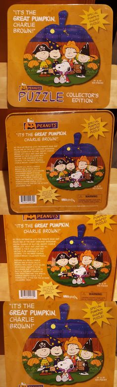 Peanuts Gang 773: New Peanuts Special Shaped Its The Great Pumpkin Charlie Brown 500 Puzzle -> BUY IT NOW ONLY: $79 on eBay!