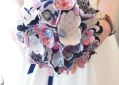 Textile corsage workshops - make a corsage or even the wedding bouquet. Edinburgh hen party activity idea.