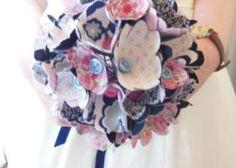 Textile corsage workshops - make a corsage or even the wedding bouquet. Edinburgh hen party activity idea.