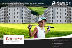 Introducing 27 Hole Golf Community for the first time in Hyderabad. The first of its kind project in India, with a stunning golf course and every other facility under the Sun is the place you would love to stay at. http://www.aliensgroup.in/html/alienshub.html