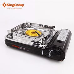 67.68$  Watch more here  - KingCamp Super Windproof Outdoor Camping Equipment Gas Stove Ceramic Gas Stove with Carrying Case Butane Stove