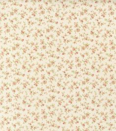 Premium Quilt Fabric-Tiny Roses Ivory, Joann Fabric and Crafts