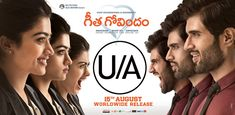 Geetha Govindam Censor Report with a U/A certificate Rashmika plays the female lead in this film which has been directed by Parasuram. Telugu Movies Download, Best Romantic Movies, Vijay Devarakonda, Good Movies To Watch, Blockbuster Movies, Now And Then Movie, Thats The Way, Hindi Movies