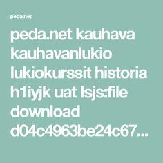 peda.net kauhava kauhavanlukio lukiokurssit historia h1iyjk uat lsjs:file download d04c4963be24c67da7660cf84fafd378ce8165db L%C3%B6yt%C3%B6retkien%20syyt%20ja%20seuraukset.pdf Peda, Historia
