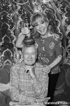 """A photo of Barbara & Bill Daily (""""Major Healey"""") at their appearance together at the Hollywood Show in Chicago on September 7, 2013.  (Photo By Joe Arce - Starstruck Foto)"""