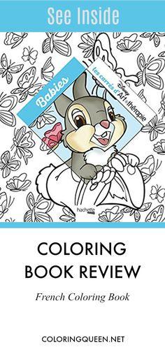 Disney Babies Coloring Book Review