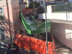 Vomero: flash mob per riaprire le scale sul ponte di via Cilea   Report Campania