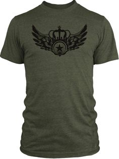 Big-Texas-Crown-Star-Black-Vintage-Tri-Blend-T-Shirt