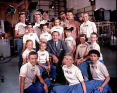 """If you were born in 1955 --- """"Now it's time to say good-bye to all our company, / M-I-C... Jimmie: See you real soon. Mouseketeers: K-E-Y... Jimmie: Why? Because we like you! Mouseketeers: M-O-U-S-E!"""" Every kid in the US (Pretty much) the year you were born knew this and sang along - it was the first year The Mickey Mouse Club was on TV"""