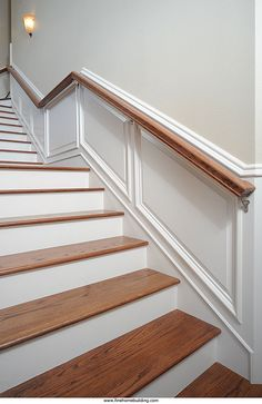 Taking Wainscot Up Stairs