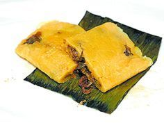 Pastelles are a traditional Trini Christmas delicacy and one I absolutely love. They are easy to prepare however a little time consuming. Wrapping them in fig leaves to steam makes all the difference Trinidad Caribbean, Caribbean Recipes, Caribbean Food, Trinidad Recipes, Trinidad Food, Indian Food Recipes, Ethnic Recipes, Fig Leaves, Looks Yummy