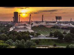 ▶ Sonnenuntergang Olympiastadion München - Timelapse - Sony SLT A65V - YouTube