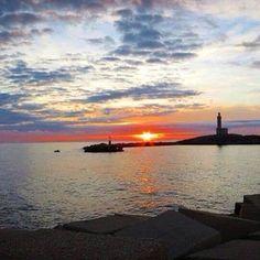 Yes We #sunset #puglia #vieste #gargano
