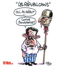 Sarkozy donne un nouveau nom à l'UMP - Dessin du jour - Urtikan.net