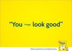 Make sure good news sound like good news. Advertising School: Miami Ad School Europe Creative Directors: Niklas Frings, Salvatore Russomanno Art
