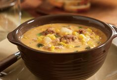 Spicy Corn Chowder - shared by Rosemary Thompson