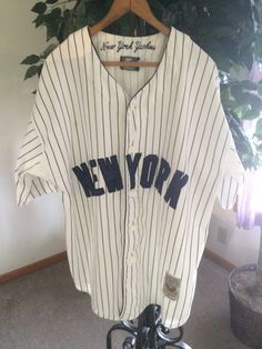 Vintage New York Yankees Jersey Cooperstown by JustClickThreeTimes