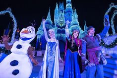 "Olaf has joined the fun of ""A Frozen Holiday Wish"" now, too! #DisneyHolidays #JetSetTravelPlanners"