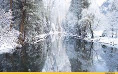 Природа,красивые фото природы: моря, озера, леса,зима